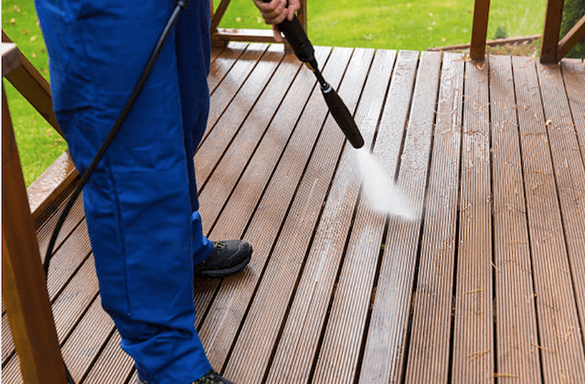 high point deck cleaning