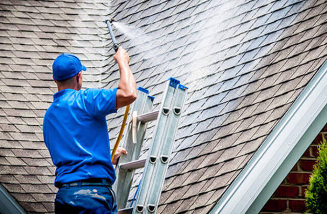 high point roof cleaning