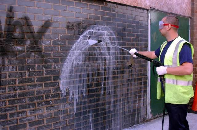 graffiti removal in high point