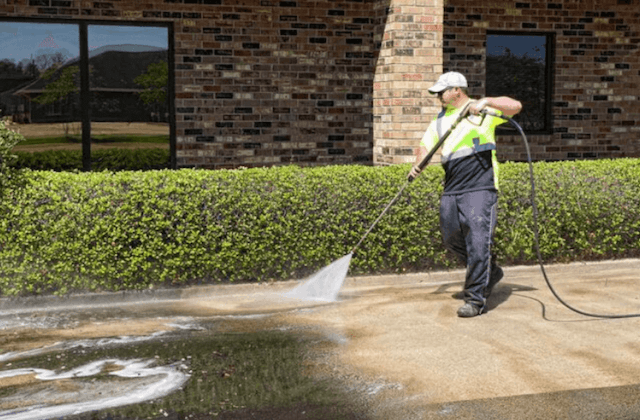 commercial concrete cleaning in high point
